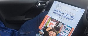 Driving Lesson in Sheffield - Look who passed with SuperDriver!